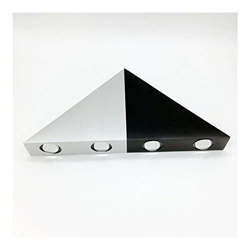 LED driehoekige wandlamp van aluminiumlegering 5 W gang allee licht bar TV slaapkamer woonkamer wanddecoratie lamp