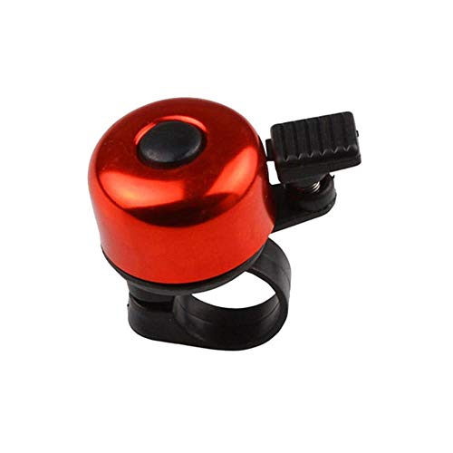 Che 1 Pc Sport Bike Mountain Road Cycling Bell Ring Metal Horn Safety Warning Alarm Bicycle Outdoor Protective Cycle, Red