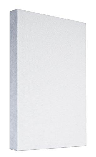 Arte & Arte 7155.0Marco con Lienzo para PITTORI, Madera de Abeto/algodón, Blanco, 100x 50x 3.5cm