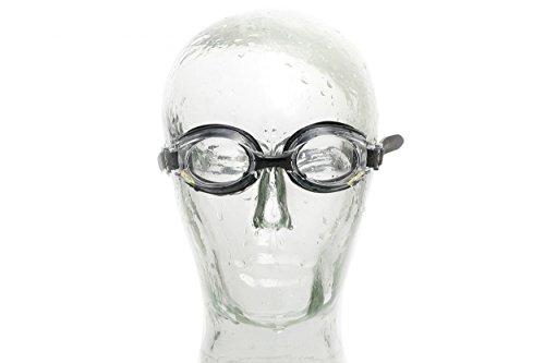 AQUA-SPEED® LUMINA - Schwarz ungetönt - Optische Schwimmbrille mit Sehstärke   Erwachsene   Herren   Damen   Erhältliche Dioptrien: -1,5 bis -8   Kurzsichtigkeit   Anti-Fog   UV-Schutz   Austauschbarer Nasensteg   Kristallklare Sicht, Modell:Lumina / schwarz / ungetönt, Größe:-4.0