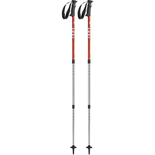 Leki Voyager Trekkingstock (Paar), Red, One Size