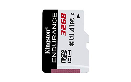 Kingston SDCE/32GB Tarjeta microSD High Endurance, 32 GB