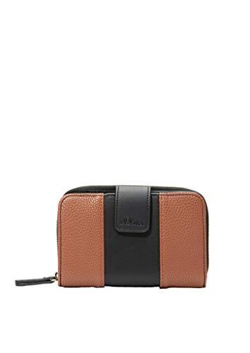 s.Oliver (Bags Damen 39.912.93.2498 Geldbörse, Braun (Brown) 1x10x15 cm (B x H x T)