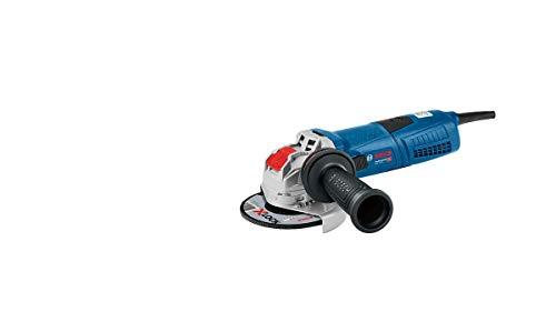 Bosch Professional GWX 13-125 - Amoladora angular (1300W, X-LOCK, 11500 rpm, Ø disco 125mm, en caja)
