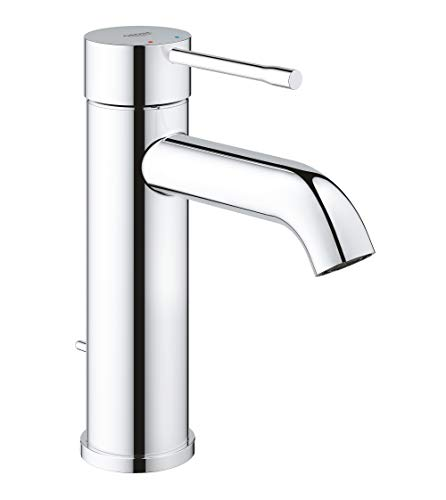 Grohe 2359200A Essence S-Size Bathroom Faucet with Fixed Spout, 1, StarLight Chrome