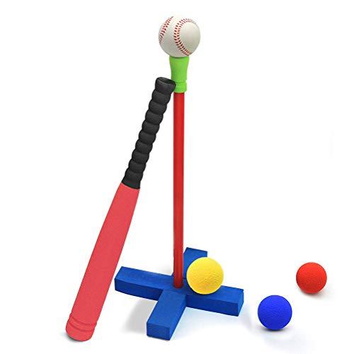 Uyuke Kinder Schaum Soft Ball Baseball Spielzeug Set mit Tragetasche Indoor Outdoor-Spiel Baseball-Spielzeug