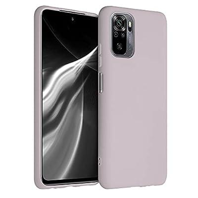kwmobile Carcasa para Xiaomi Redmi Note 10 / Note 10S - Funda para móvil en TPU Silicona - Protector Trasero en Lavanda Suave