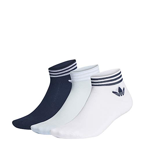 adidas Originals Trefoil Ankle 3 Pair Pack Socken 43-46