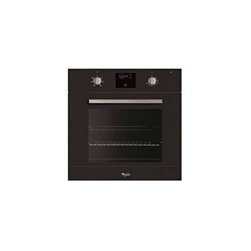 Whirlpool AKP471NB/01 Einbauofen Katalyse, schwarz, multifunktional, gebrühte Wärme, 60 l, Tür mit 3 Glasscheiben, Energieeffizienzklasse A