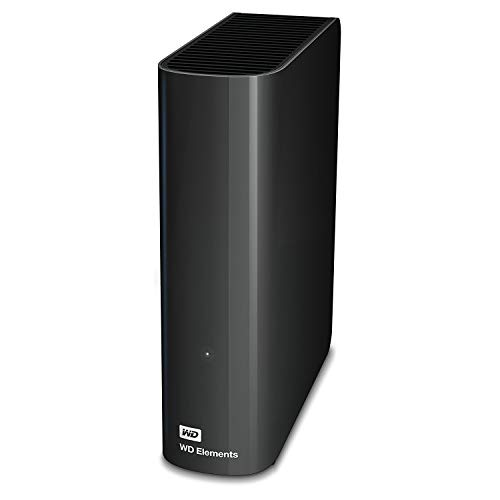 WD Elements Desktop - Disco duro externo de sobremesa de 3 TB, color negro (Reacondicionado) miniatura