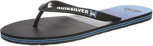 Quiksilver Molokai Hold Down, Zapatos de Playa y Piscina Hombre, Azul (Black/Blue Xkbk), 45 EU
