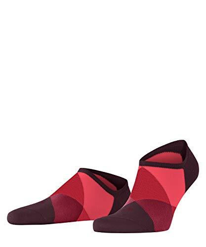 Burlington Herren Clyde Sneakersocken, rot (Claret 8375), 40-46