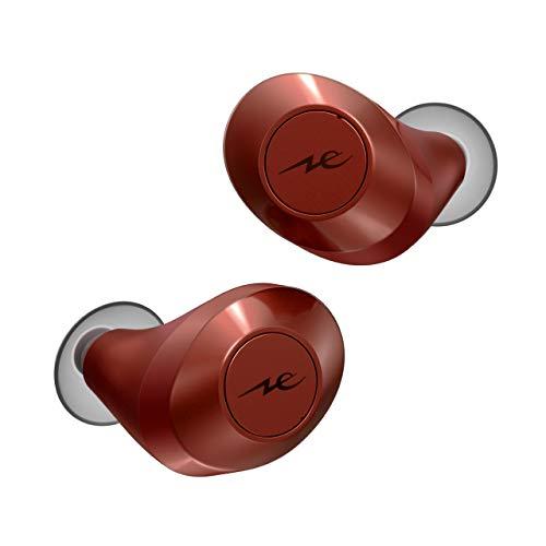 ラディウス radius HP-T60BT 完全ワイヤレスイヤホン : Bluetooth対応 フルワイヤレス 外音取り込み 左右分離型 AAC 軽量 小さい コンパクト 女性にも 高音質 イヤホン HP-T60BTR (ファイヤードブリック)