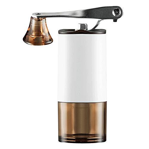 ZSLLO Mini Handmatige Keramische Koffiemolen Roestvrij Staal Verstelbare Koffiemolen met Transparant Lichaam Wasbaar Keramische Keramische kern Koffiebonenmolen