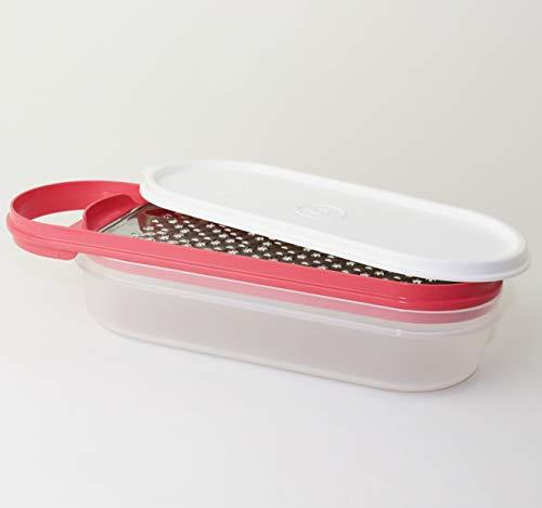 Tupperware 1x Küchenreibe Reibe Fleißiges Lieschen Küchenhelfer Rosa + Geschenk Mini Trichter