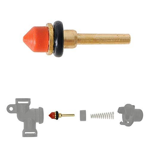 Reparatur Wartungsset für das Auslaufventil (Ventilstößel aus Messing & Dichtungen) für Melitta Caffeo