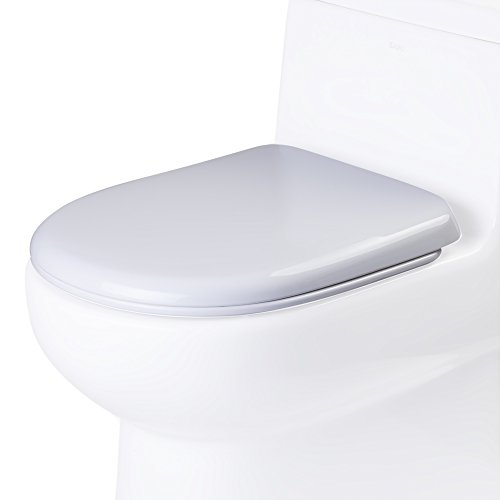 EAGO R-351SEAT Replacement Soft Closing Toilet Seat for TB351, White