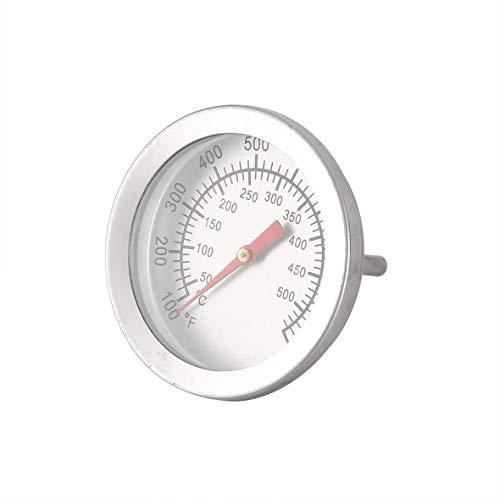 Tivolii Termómetro Acero Inoxidable BBQ Barbacoa Fumador Parrilla Termómetro Indicador de Temperatura
