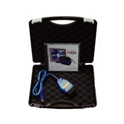 DIAMEX DX35 OBD2 Interface im Koffer inkl. Profi-Software moDiag Expert , Made in Germany