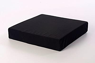 """TOPSTYLE COLLECTION Memory Foam Pressure Relief Support Cushion For Wheelchair Users (18"""" X 16"""" X4"""")"""