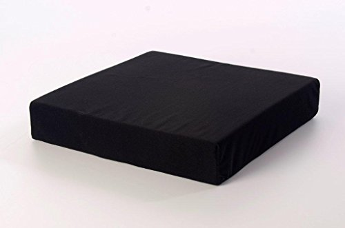 TOPSTYLE COLLECTION Memory Foam Pressure Relief Support Cushion For Wheelchair Users (18' X 16' X4')