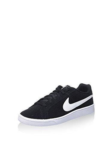 Nike Court Royale Suede Zapatillas de tenis Hombre, Negro (Black / White), 38.5 EU