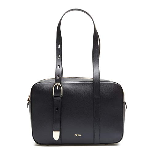 Furla women Block shoulder bag nero