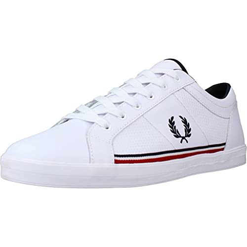 Fred Perry Baseline Perf Leather B7114200, Deportivas -...