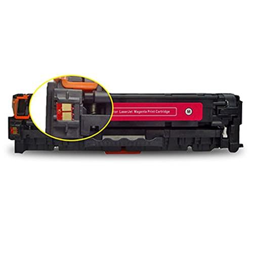 AXAX Cartucho de tóner compatible con HP 530BK - 533M, para impresoras HP Color Laserjet Pro 300 M351 375 400 M451 M475, con chip Office Supplies Company, color magenta
