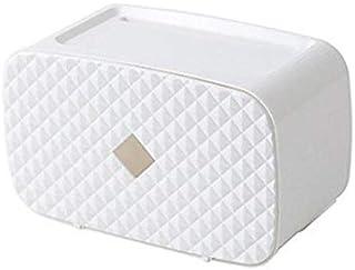 Wc-Rolhouder Voor Tissue Dozen Waterdichte Papieren Handdoekhouder Wandmontage Wc Papierrolhouder Case Buis Opbergdoos Bad...
