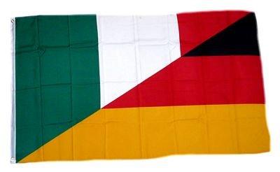 Fahne / Flagge Deutschland / Italien NEU 90 x 150 cm