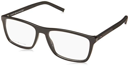 Tommy Hilfiger Gafas de Vista TH 1592 Black 55/17/145 hombre