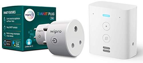 Echo Flex bundle with Wipro 16A smart plug for heavy appliances