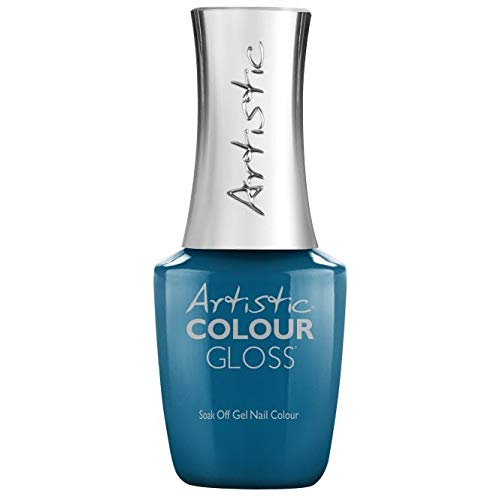Artistic Colour Gloss Sofly 2019 - Gel de uñas (15 ml), color azul