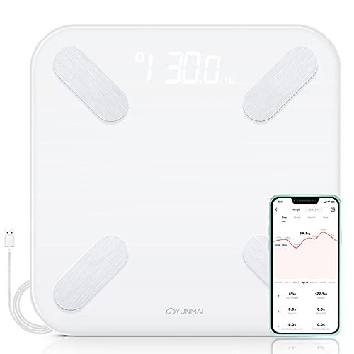 bilancia pesapersone massa grassa e magra YUNMAI X Bilancia Pesapersone Digitale