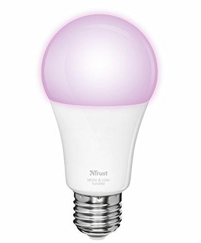Trust KlikAanKlikUit Dimbare E27 LED lamp - Aanpasbare Kleur ZLED-RGB9 - Premium Line - (Zigbee)