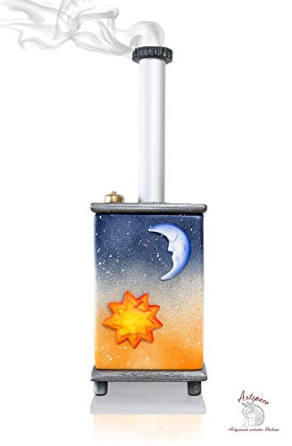 ARTEPACO Incense Holder, Incense Burner, Cat Stove for Aromatherapy, Ambient Perfumer, Home Gift Idea (Sunset)