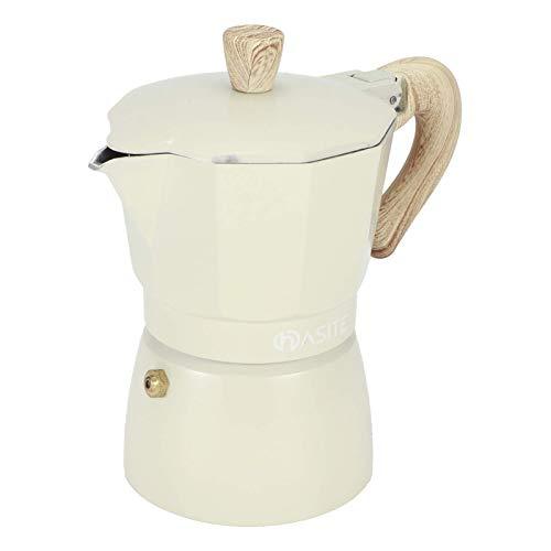 Dzbanek do kawy kempingowej, ekspres do kawy, trwała moka do domowej kawiarni (garnek Seiko nr 3 150 ML jasnożółty)