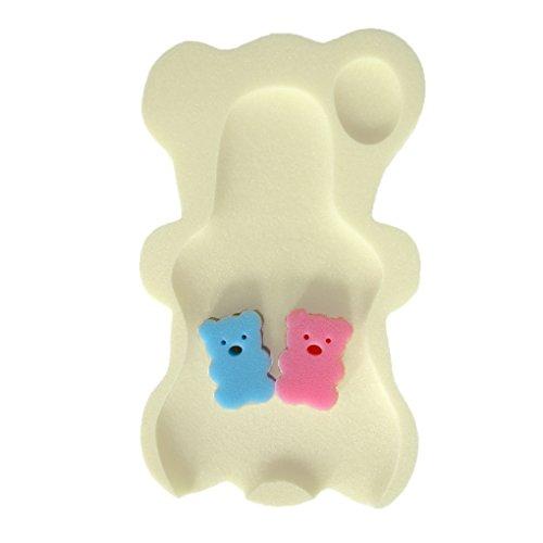 Allayu 9 Farben Schwamm-Baby-Badematte Anti-Rutsch-Schwamm-Mat Badewanne Neugeborenes Anti-Skid Badewanne Baby Badewanne Pad Neugeborene für Babypflege