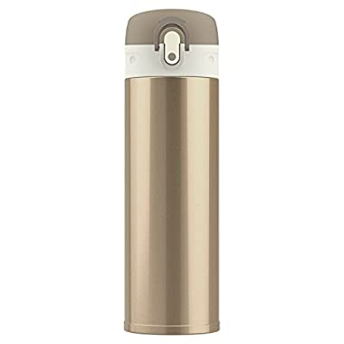JEFlex 14 Ounce Stainless Steel Commuter Bottle Vacuum Insulated Leakproof Travel Mug - Champaign