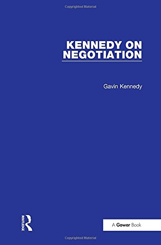 Image OfKennedy On Negotiation