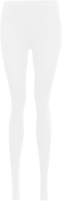 Aelstores Girls Leggings Plain Stretch Pants 7-14 Years