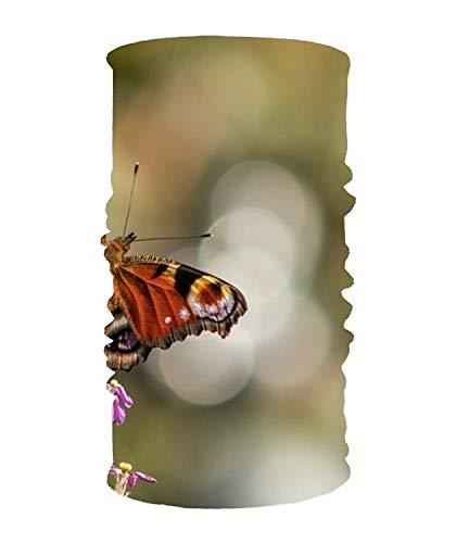 dingjiakemao Stylish Nature Plant Tulips UV Headband Quick Dry Ultra Soft Elastic Handscarf Microfiber Headwear Outdoor Bandana Magic Scarf Face Mask Unisex