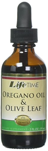 Lifetime Oregano Oil & Olive Leaf Supplements, 2 Fluid Ounce