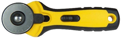 Stanley STHT0-10194 Ronde mes, 45 mm diameter, ergonomische handgreep, beide handen, robuust rond mes