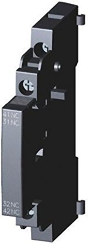 Siemens–Block Kontakt 2NC seitlich Schalter S00/S0Schraube