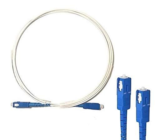 宅内光配線コード 光ファイバー ケーブル sc-sc 両端SCコネクタ付 (3m)