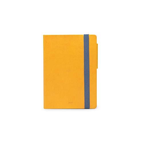 Legami - Agenda Giornaliera, 12 Mesi, 2021, Small, Yellow
