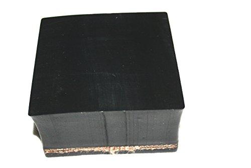80x80x50mm Gummiauflage für Wagenheber und Hebebühnen Klotz Vollgummi Hartgummi