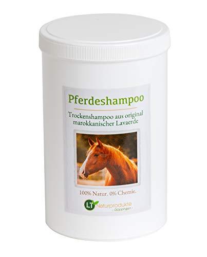 Droogshampoo voor paarden - met originele Marokkaanse lavaklei | veganistisch en organisch | voor chemische-vrije vachtverzorging | klei helende klei waspoeder antiroos gevoelig